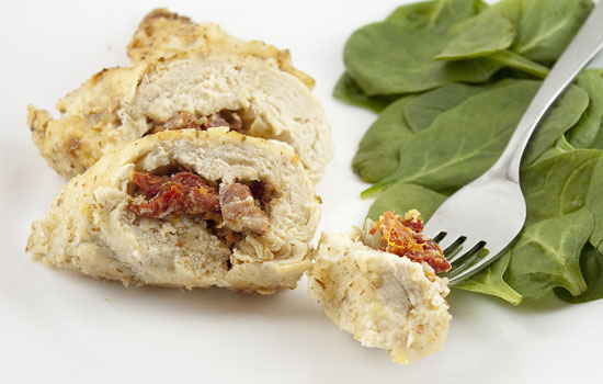 Pancetta and Sun-Dried Tomato Stuffed Chicken Breasts
