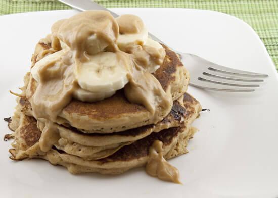 Banana Boat Pancakes