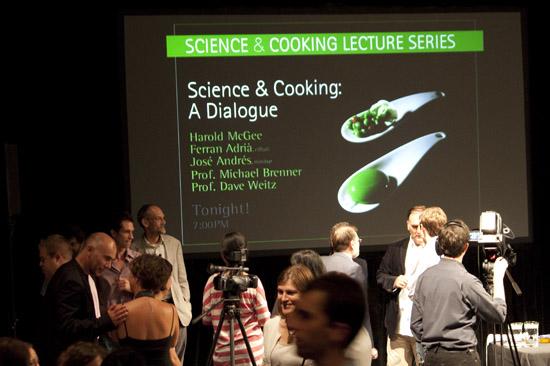 Harvard's Science and Cooking Seminar