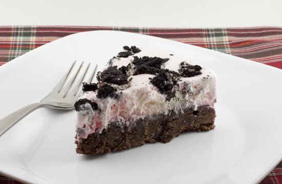 Peppermint Brownie Torte