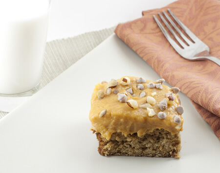 Pumpkin Hazelnut Oatmeal Cookie Bars