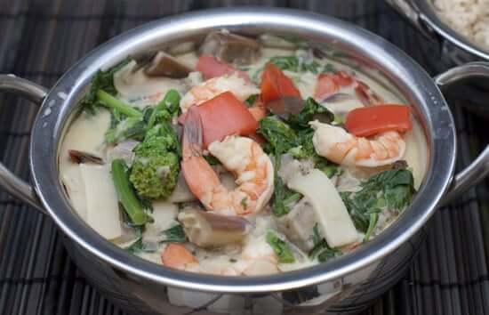 Thai Shrimp Green Curry