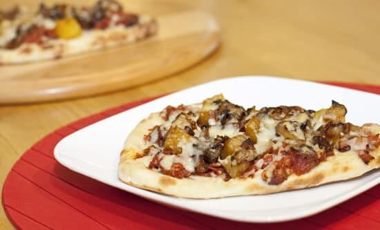 Caramelized Pineapple Pulled Pork Flatbreads