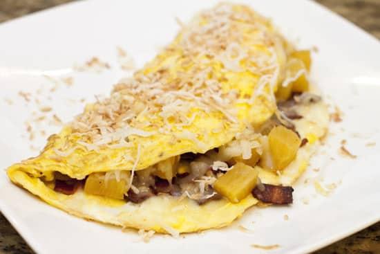 Hawaiian Omelet