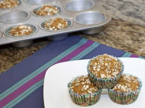 Orange Coriander Oat Bran Muffins
