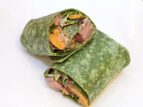 Adobo Ranch Beef Wraps