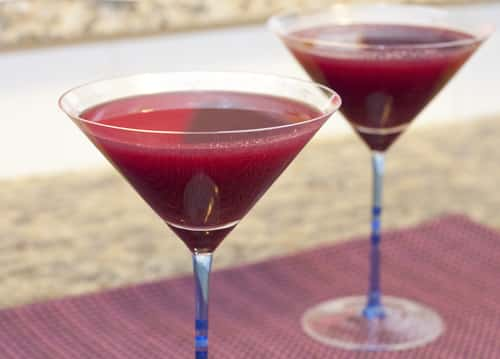 Blueberry Watermelon Martinis