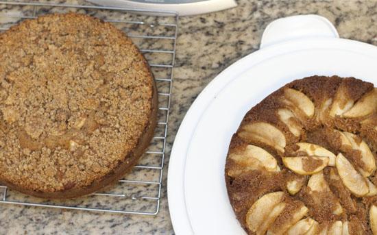 Apple Coffee Layer Cake