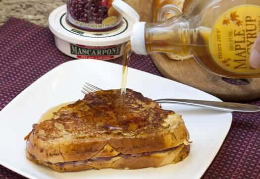 Red Bean Paste Stuffed French Toast