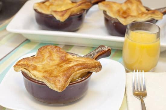 Individual Breakfast Pot Pies